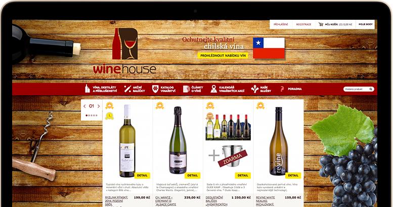 Winehouse má 32% nárůst v online platbách