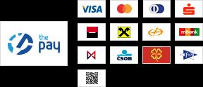 ThePay – Platba24, eKonto, mPeníze, MONETA, ČSOB, Fio Banka, Equa Bank, superCASH, Sberbank, QR platba