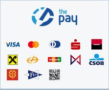 ThePay – Platba kartou, Platba24, MojePlatba, eKonto, mPeníze, MONETA, ČSOB, Fio Banka, Equa Bank, QR platba