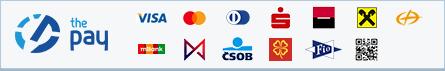 ThePay – Platba24, MojePlatba, eKonto, mPeníze, MONETA, ČSOB, Fio Banka, QR platba, Equa Bank