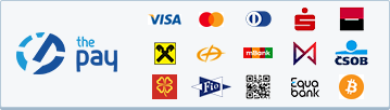 ThePay – Platba kartou, Platba24, MojePlatba, eKonto, mPeníze, Ge Money, ČSOB, Fio Banka, Equa Bank, superCASH, Sberbank, QR platba