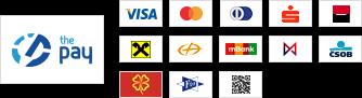 ThePay – Platba24, MojePlatba, eKonto, mPeníze, MONETA, ČSOB, Fio Banka, QR platba